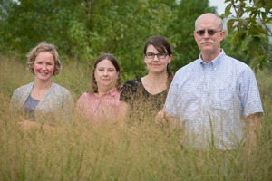 Sarah Evans Lisa Tiemann Maren Friesen Jim Cole switchgrass